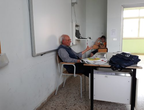 """IL DIRETTORE DI ANGRI80 INCONTRA I RAGAZZI DELLA """"GALVANI-OPROMOLLA"""""""