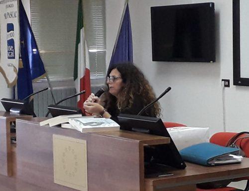 L'autrice LUISA SORDILLO al Pascal per la presentazione del libro VOCE DI SALE