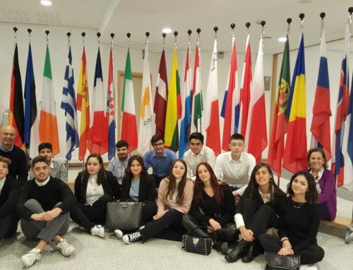 Impegno, conoscenze e soprattutto tanta soddisfazione per gli alunni del Pascal a Bruxelles