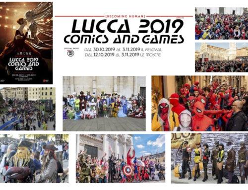 """I nostro viaggio al """"Lucca Comix & Gamese 2019"""""""