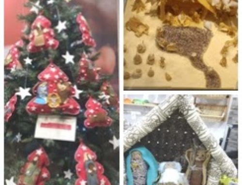 """Natale: la scuola Primaria """"Patrono d'Italia""""aderisce al """"Concorso Presepi Natale 2019"""""""