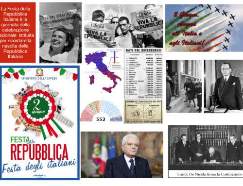 2 giugno 2020 Compleanno della Repubblica Italiana