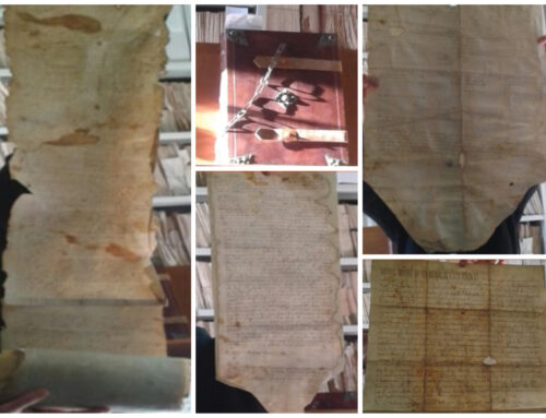 L'archivio di Assisi.
