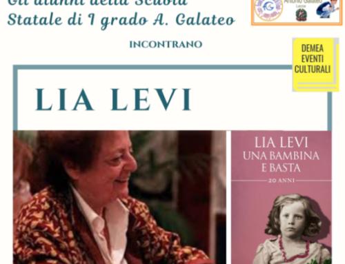 Incontro con Lia Levi, 19 gennaio 2021