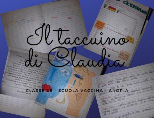Il taccuino di Claudia