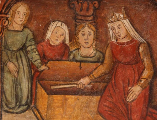 Todi, scoperti affreschi del 500