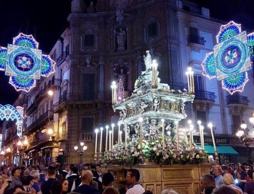 """Palermo in festa per la sua """"Santuzza"""""""