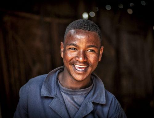 Hakim, il giovane fabbro di Addis Merkato