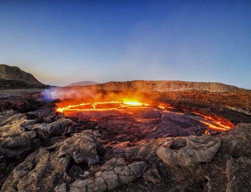 In Dancalia (Etiopia), dove la terra brucia