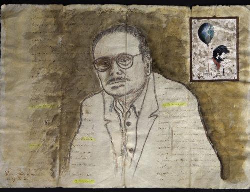 La pittura letteraria di Pino Manzella