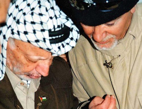 """Il Natale di Arafat: """"Siamo per la pace"""""""
