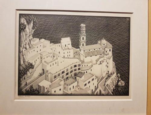 Escher, il pittore che si ispira alla geometria
