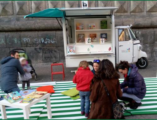 Anche a Napoli arriva la biblioteca itinerante