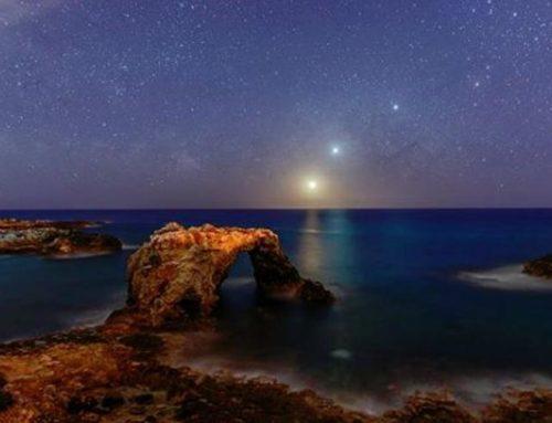 Quello scatto speciale nel cielo siciliano