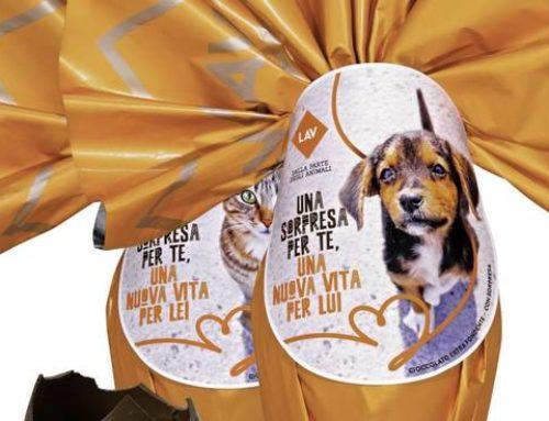 Uova di Pasqua in difesa degli animali