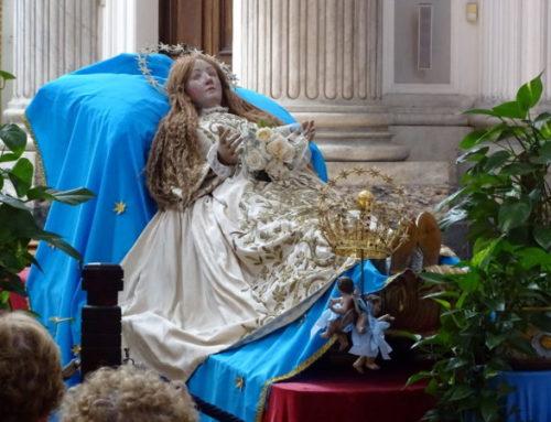 La Madonna dell'Annunziata e le scarpine consumate
