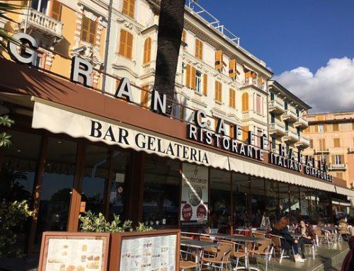 A Rapallo due robot aiutano i camerieri
