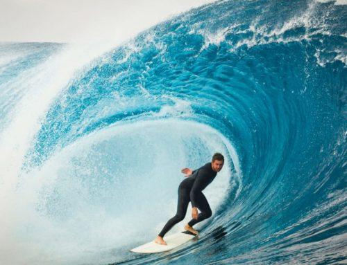 Un italiano sul tetto mondiale delle onde