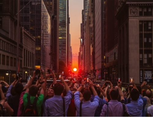 Manhattanhenge: effetti speciali a New York