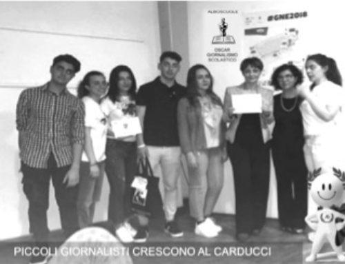 Piccoli giornalisti crescono al Carducci