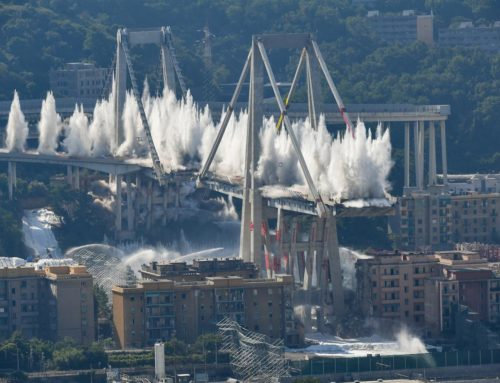 Il ponte Morandi di Genova non c'è più…
