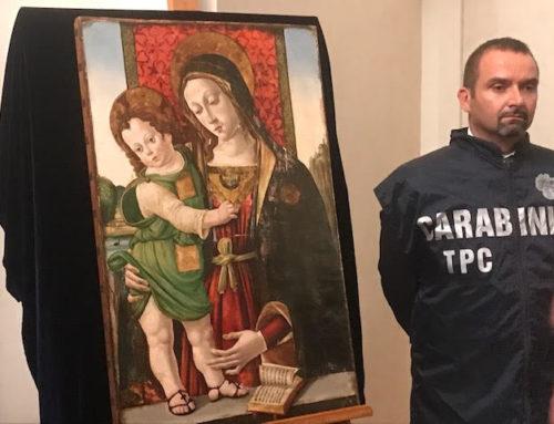 I misteri del dipinto rubato e ritrovato