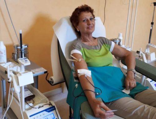 Daniela, 300 donazioni di sangue: un record