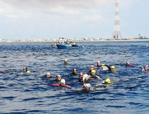 Stretto di Messina, tutti a nuoto da Scilla a Cariddi