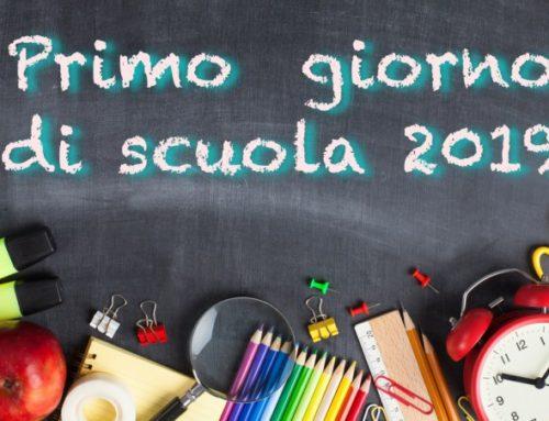 2019/20: buon anno scolastico a tutti