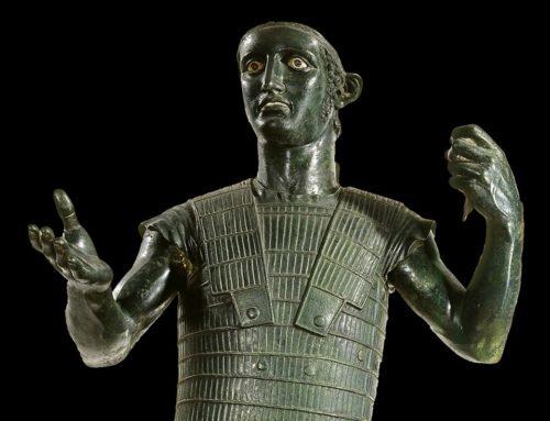 Quella statua bronzea di Marte scoperta per caso a Todi