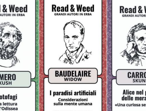 Erba e lettura a braccetto: la cannabis legale arriva in libreria