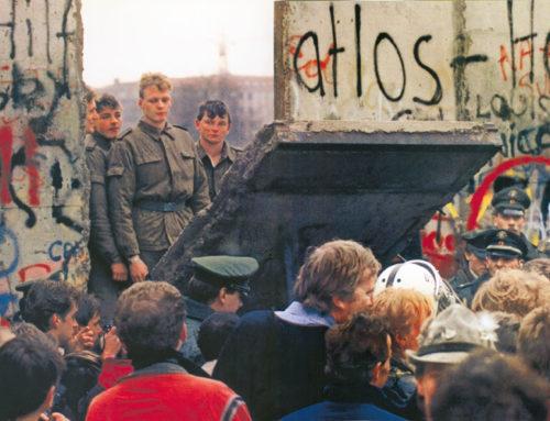 Trent'anni fa l'addio al Muro di Berlino