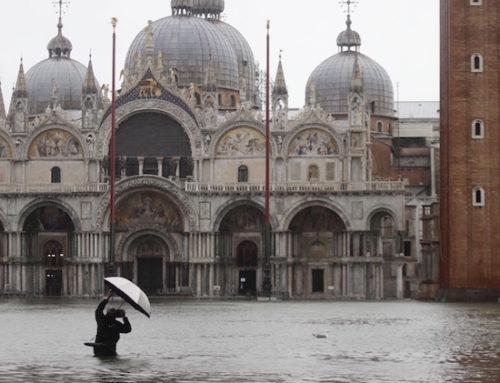 Venezia che affonda, specchio dell'Italia