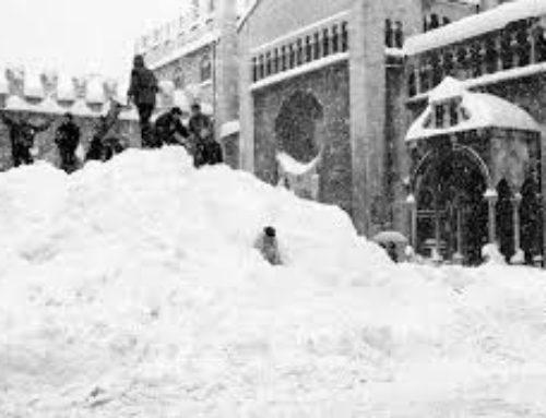 La nevicata del secolo, era il gennaio dell'85