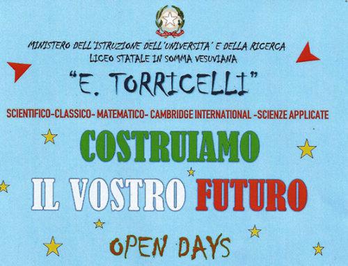 Scientifico Torricelli: è tempo di feste
