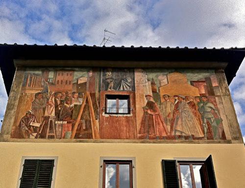 Firenze, ecco l'affresco di piazza della Calza