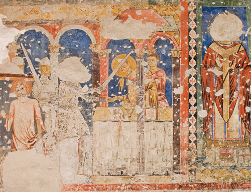 A Spoleto l'affresco sull'omicidio di Thomas Becket