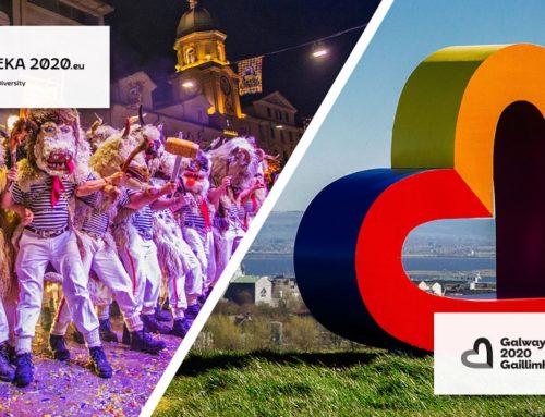 Cultura, Fiume e Galway capitali europee