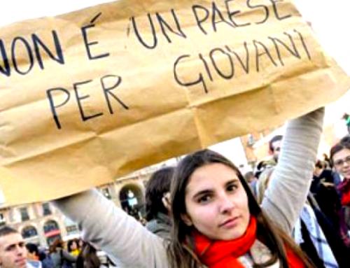 L'Italia non è proprio un Paese per giovani