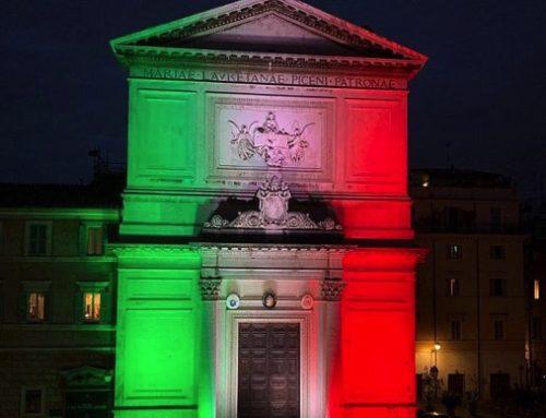 Illuminata la parrocchia di S.Salvatore a Roma