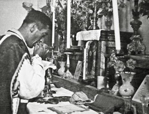 Don Marino, il prete che non offriva la guancia per due volte