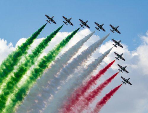 Frecce Tricolori, grande orgoglio dell'Italia intera