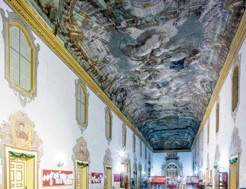 In Campania la tela più grande del mondo