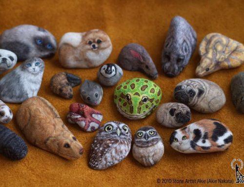 Akie Nakata, dar vita alle pietre con la pittura