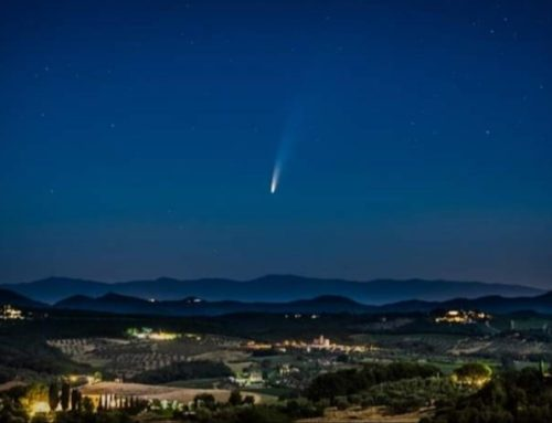 La cometa Neowise visibile ad occhio nudo