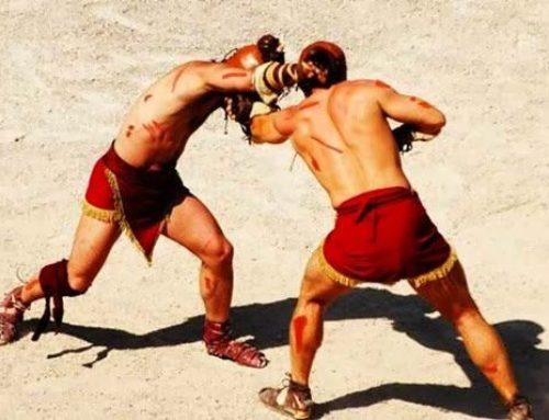 Prisco e Vero, gladiatori da record alla prima del Colosseo