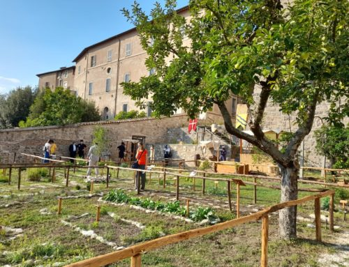 A Rieti splende l'orto botanico medievale