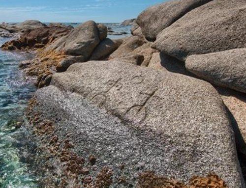 Ogliastra, i magnifici petroglifi del lido di Orrì