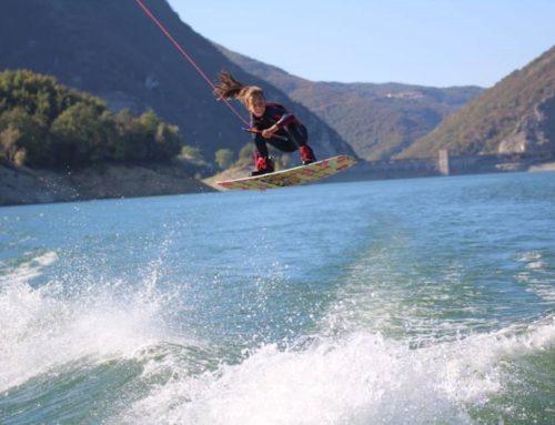 Wakeboard, l'università è sul lago del Salto