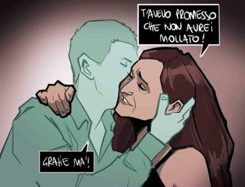 """""""Marco, ora avrai i fiori che ti avevo promesso"""""""